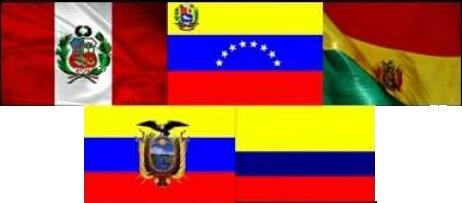 banderas bolivarianas